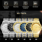 TEVISE Men Automatic Mechanical Wristwatch Stainless Steel Watch Fashion O5S1