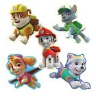 20 Paw Patrol Shape STICKERS Party Favors Supplies Birthday Treat Loot Bags