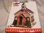 NEW LEMAX Christmas WAYSIDE CHURCH Light Coventry CADDINGTON Village House 85414