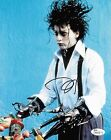 Johnny Depp Edward Scissorhands Autographed Signed 8x10 Photo JSA COA #4