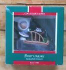Hallmark Christmas Ornament Frosty Friends 1989 10th In Series Dog Sled