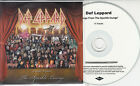 DEF LEPPARD Songs From The Sparkle Lounge UK 11-track watermarked promo test CD