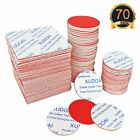 70 Pieces Double Sided Foam Tape Strong Pad Self Mounting Adhesive Tape