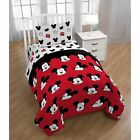 Disney Mickey Mouse Cute Faces Twin Sheet Set