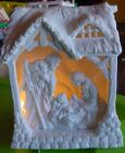 Department 56 Lighted Nativity Christmas Tabletop Lighted Display Inspirational