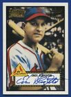 2001 TOPPS ENOS SLAUGHTER TEAM TOPPS LEGENDS AUTO AUTOGRAPH
