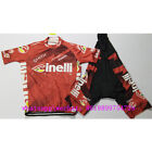cinelli santini summer men clothing wear aero red cycling suits bike jersey sets
