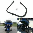 FOR HARLEY TOURING STREET ROAD GLIDE KING 2009-2019 BLACK ENGINE GUARD