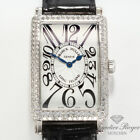 FRANCK MULLER LONG ISLAND WEISSGOLD 750 DIAMANTEN 950 QZ D Medium Damenuhr Lady