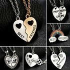 Best Friends BFF Letters Personalized Couple Necklace Pendant Women Jewelry Gift