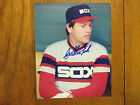 CARLTON FISK Chicago White Sox Signed 8 x 10 Glossy Color Photo