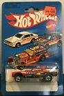 Vintage Hot Wheels Top Eliminator No 7630 Red RACER 301 w Protecto 164 Scale