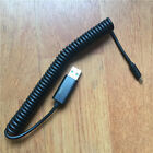 USB to dc 2mm curl power Cable for Nokia E5 E50 E51 E61 E61i E62 E65 E66 E71 E72