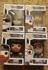 Funko Pop Duck Dynasty Set of 4 Willie Jase - Phil & Uncle Si have Box Damage