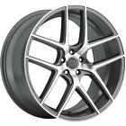 Milanni Tycoon 22x105 5x1143 5x45 +42mm Gunmetal Wheels Rims