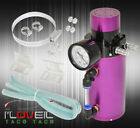 For Scion N/A Turbocharger Supercharger Engine Oil Catch Can Reservoir Tank Purp