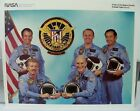 Official NASA Discovery Space Shuttle Mission STS 51 C Crew 8 x 10 Photo