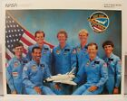 Official NASA Columbia Space Shuttle Mission STS 61 C Crew 8 x 10 Photo