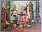 Vintage Wayne Jig A Saw Puzzle 21x Birth of the Flag 300pc Complete1940s
