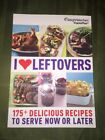 Weight Watchers book I Love Leftovers Points food guide meals recipes Oprah EUC