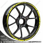 Stickers Trims Wheel Wheels Stickers Gilera Nexus 300 500 Yellow