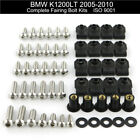 For 2009 BMW K1200LT 2005-2010 Complete Fairing Bolts Bodywork Screws Nuts Kit