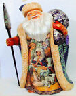 Russian Hand Painted Father Frost The Birth of Christ by Marina Nadezhdina