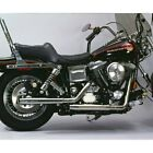 For Harley Davidson Tour Glide 91 94 V Twin Staggered Dual Replacement Exhaust