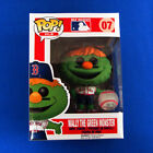 Funko POP! MLB Mascots Boston Red Sox WALLY THE GREEN MONSTER #07 Vaulted