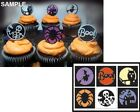 Impression Obsession HALLOWEEN CUTOUT CIRCLES Steel Die Set DIE324 X Candy Treat