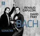 Renaud Capuçon & David Fray - Bach: Sonatas For Violin & Key NEW CD