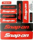 NEW Genuine Snap On Tools Logo Decal Sticker Sheet with 10 Various Size Stickers
