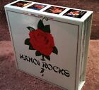 HANOI ROCKS JAPAN MINI LP 5 CD DISK UNION BOX SET 2006 VICP-63371/5 24 BIT RM