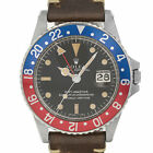 Rolex 1675 Pepsi GMT Master Patina Stainless Steel Swiss Automatic Watch