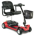 Pride Mobility Go Go Ultra X 4 Wheel Electric Battery Travel Scooter Red NEW