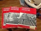 3 Issues, from JULY 1958,l Engineering News-Record Magazine, Old Machines