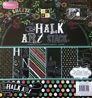CHALK ART STACK 12X12 SCRAPBOOKING CARDSTOCK PAPER PAD 36 LOT LIMITED EDITION