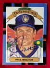 Paul Molitor Cards, Rookie Card and Autographed Memorabilia Guide 5
