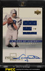 2001 UD Pros & prospects Piece Of History Johnny Unitas AUTO JERSEY PATCH (PWCC)