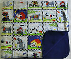 DOG CAT RABBIT SMALL PET poly cotto FLEECE BLANKET dogs in squares 22X29 76