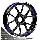 Trims Rim Tone Stickers Wheels Honda CRM 125R Hm Wheel Blue White