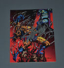 STAN LEE Signed WOLVERINE DEFEATED Flair 1994 Card AUTOGRAPH