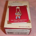 HALLMARK KEEPSAKE ORNAMENT ~ MY FIRST CHRISTMAS ~ AGE COLLECTION ~ SWING ~ 2003