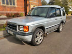 LARGER PHOTOS: LHD LEFT HAND DRIVE LAND ROVER DISCOVERY TD5 AUTO UK REG