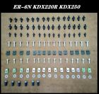 Fairing Bolt Kit Bodywork Screws Fit For Kawasaki Ninja ER-6N KDX220R KDX250
