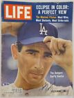 Sandy Koufax Autographed Signed Life Magazine Los Angeles Dodgers Beckett A60606
