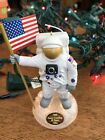 Hallmark Keepsake 1994 Lunar Landing 25 Years Light & Voice Ornament