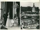 Press Photo Various Images of Buckingham Palace in England mjx35904