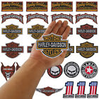 Wholesale Lot of Motorcycle Biker Motor MotoGP Iron On Embroidered Patch Random
