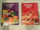 1 03 Lot WEIGHT WATCHERS 2003 COMPLETE FOOD COMPANION lot of 2 DINING OUT